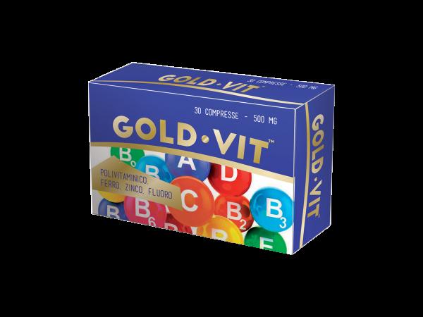 GOLDVIT - integratore - compresse in blister