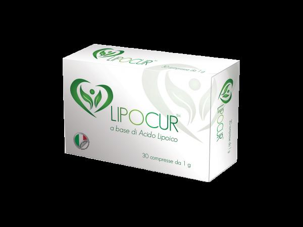 LIPOCUR - integratore - nutraceutico - compresse in blister