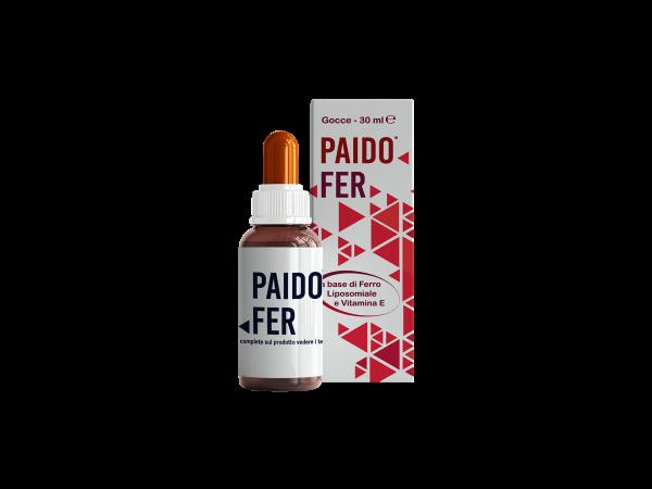 PAIDOFER - integratore - nutraceutico - flacone