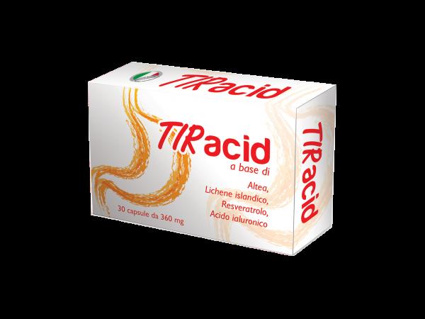 TIRACID - integratore -nutraceutico - capsule in blister