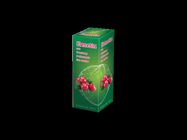 URMETIN - integratore - nutraceutico - flacone