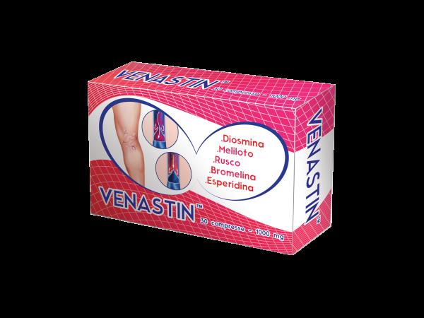 VENASTIN - integratore - nutraceutico - compresse in blister