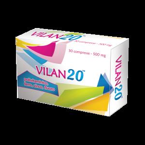 VILAN20 - integratore - compresse in blister